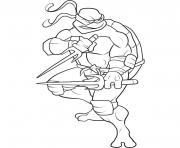 Coloriage tortue ninja 122
