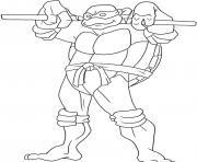 tortue ninja 188 dessin à colorier