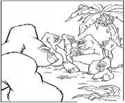 tarzan 80 dessin à colorier