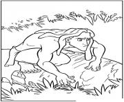 Coloriage tarzan 197 dessin