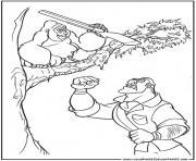tarzan 195 dessin à colorier