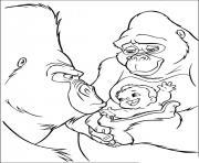 tarzan 130 dessin à colorier