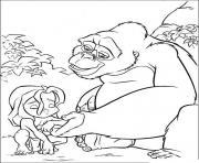Coloriage tarzan 139 dessin