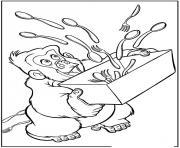 tarzan 40 dessin à colorier