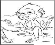 tarzan 137 dessin à colorier