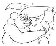 tarzan 182 dessin à colorier