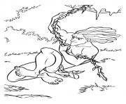 tarzan 221 dessin à colorier