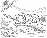 tarzan 69 dessin à colorier