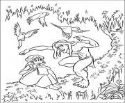 Coloriage tarzan 136 dessin