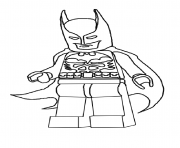 Coloriage batman lego 2016