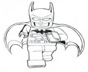 Coloriage batman lego is running movie