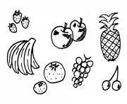 Coloriage fruit 174