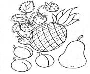 Coloriage fruit 42 dessin