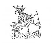 Coloriage fruit 189 dessin
