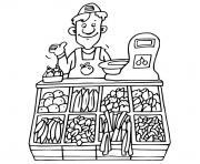 Coloriage Maternelle Fruits Et Legumes.Coloriage Fruits A Imprimer Dessin Sur Coloriage Info