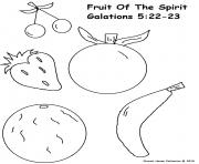 Coloriage fruit 76