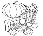 Coloriage fruit 69