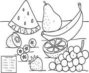 Coloriage fruit 74