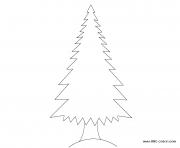 arbre 69 dessin à colorier