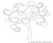 arbre 21 dessin à colorier