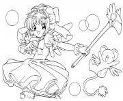 manga 158 dessin à colorier