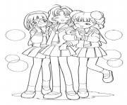 manga 62 dessin à colorier