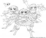 manga 125 dessin à colorier