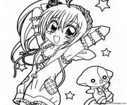 manga 31 dessin à colorier