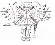 manga 283 dessin à colorier