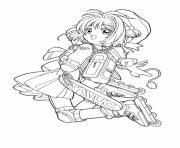 manga 44 dessin à colorier