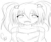 Coloriage Manga à Imprimer Gratuit Sur Coloriageinfo