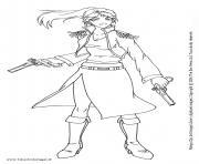 manga 164 dessin à colorier