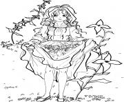 fille manga 6 dessin à colorier