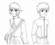 manga 233 dessin à colorier