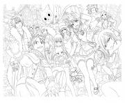 manga_par_tobeyd dessin à colorier