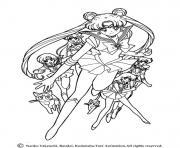 fille manga 63 dessin à colorier