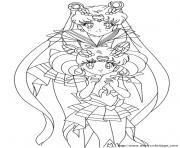 manga 170 dessin à colorier