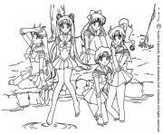 manga 36 dessin à colorier
