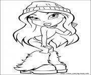 fille manga 58 dessin à colorier