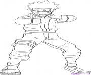 Coloriage manga naruto 130 dessin