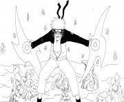 manga naruto 181 dessin à colorier