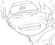 manga naruto 122 dessin à colorier