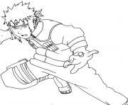 manga naruto 179 dessin à colorier