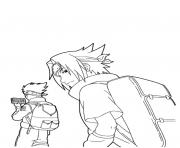 manga naruto 133 dessin à colorier