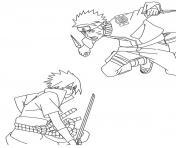 manga naruto 92 dessin à colorier