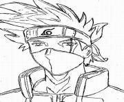 manga naruto 62 dessin à colorier