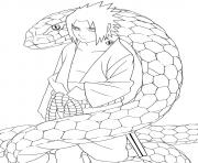 manga naruto 2 dessin à colorier