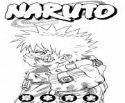 manga naruto 50 dessin à colorier