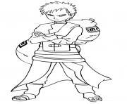 Coloriage manga naruto 232 dessin