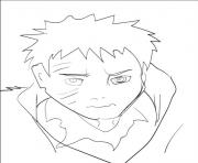 manga naruto 270 dessin à colorier